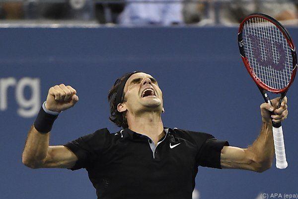 Federer drehte die Partie noch um