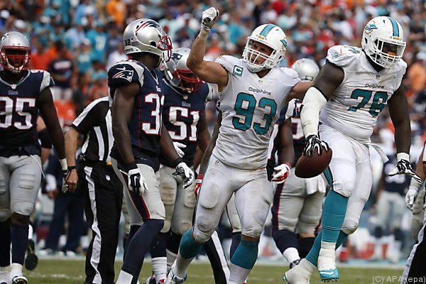 Die Miami Dolphins bezwangen ihre Divisionsrivalen