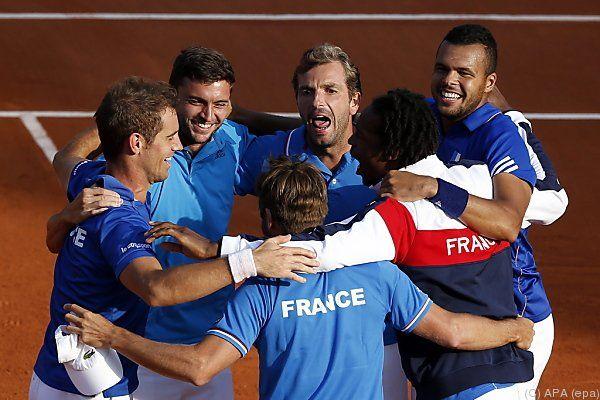 Frankreich darf über Finaleinzug jubeln