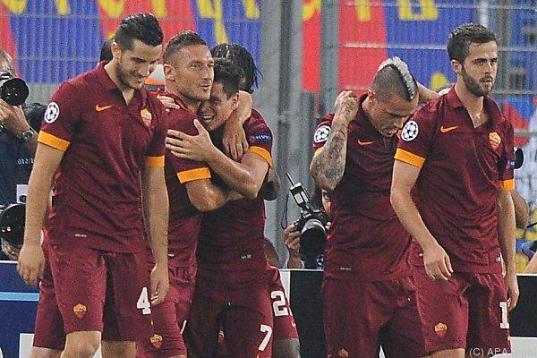 AS Roma feierte Schützenfest gegen ZSKA Moskau