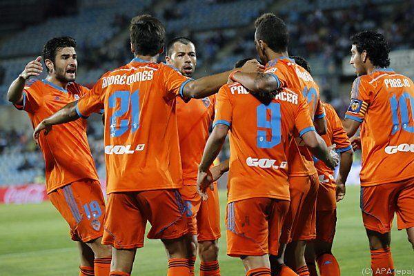 Valencia erster Verfolger von Barcelona