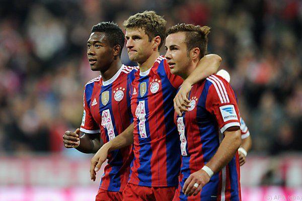 Lehrstunde der Bayern für den Aufsteiger