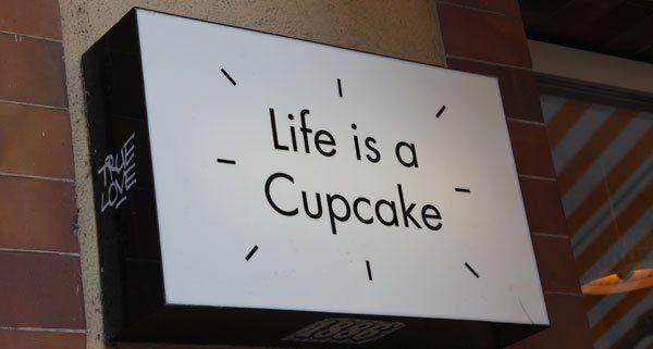 Michelle hat in Zürich ein Cupcake-Geschäft aufgemacht.