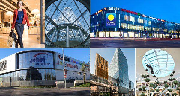 VIENNA.at hat zehn Einkaufszentren verglichen.