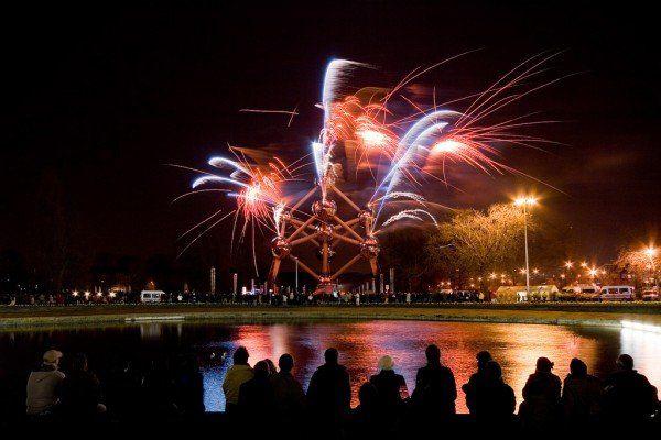 """(c) michaeluyttersp """"atomium-fireworks-1"""""""
