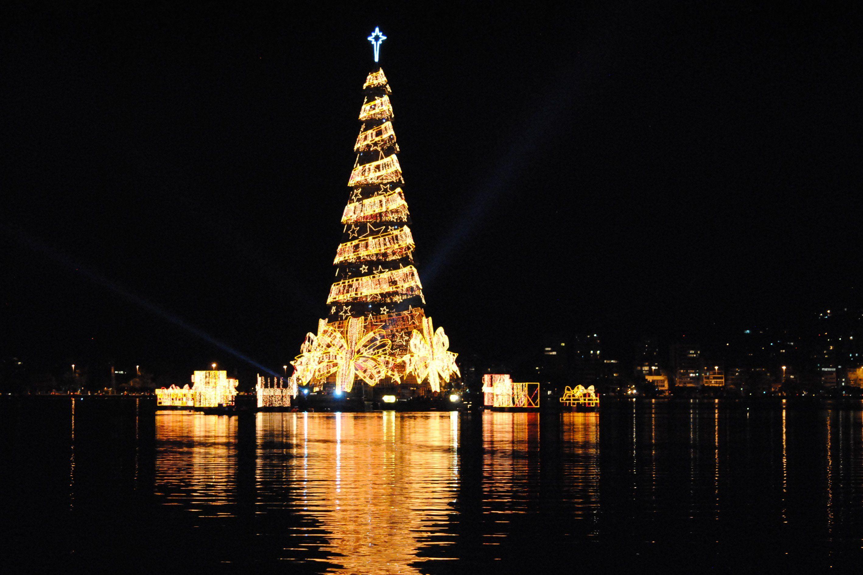 Wo Ist Der Größte Weihnachtsbaum Der Welt