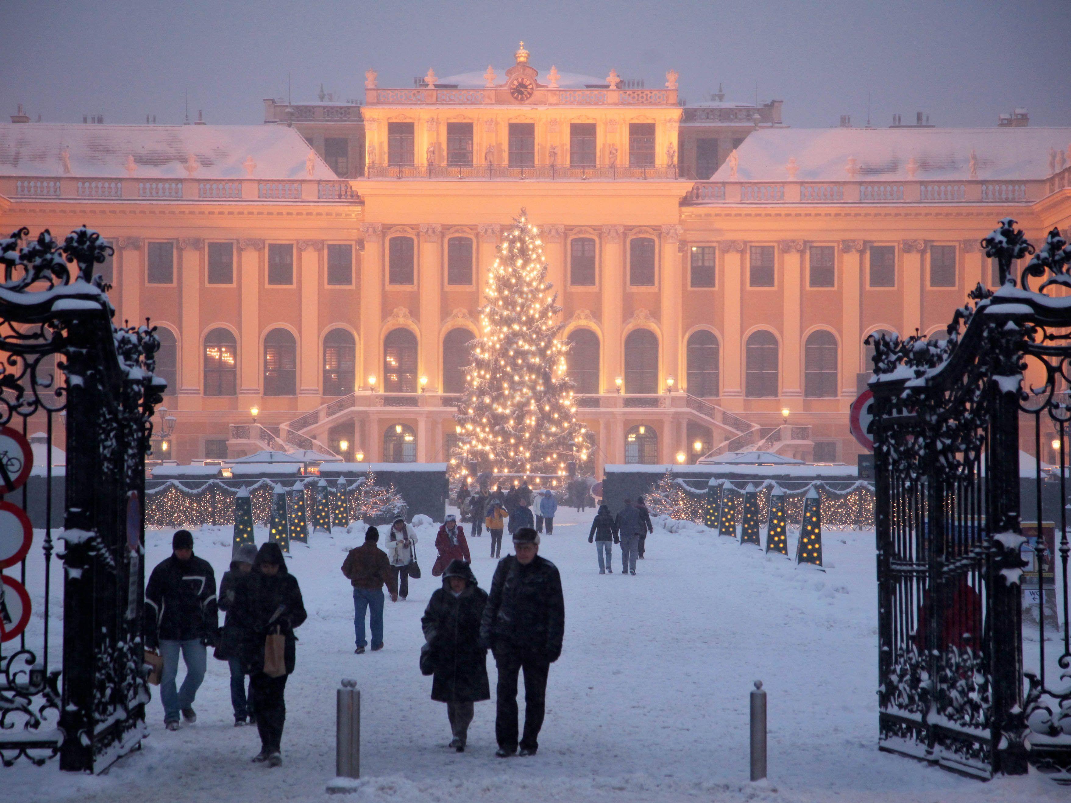 Weihnachtsmarkt Wien Eröffnung.Am 18 November Eröffnet Der Weihnachtsmarkt Schloss Schönbrunn 2017