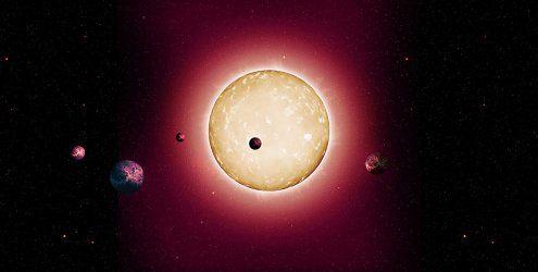 Forscher spürten ältesten Stern mit erdähnlichen Planeten auf