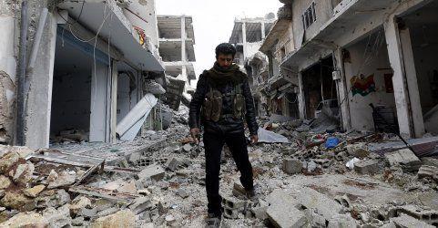 Schock-Bilder aus Kobane: Stadt ist nur mehr Schutt und Asche