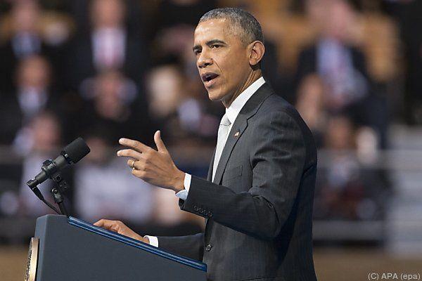 Obamas Entwurf dürfte im Kongress aber scheitern