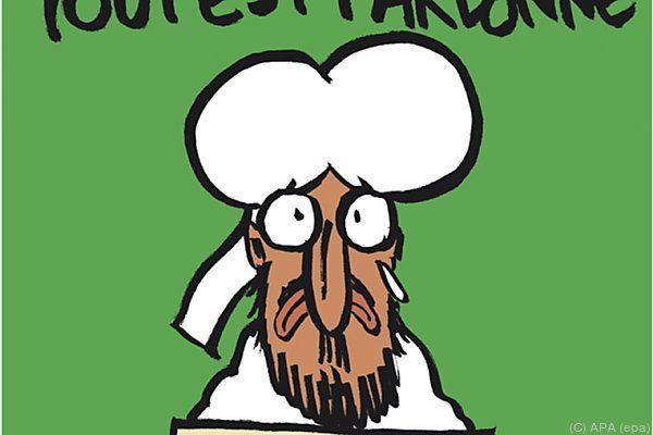 Ausgabe von Charlie Hebdo nach dem Anschlag