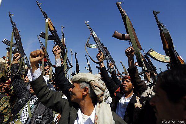 Houthi-Rebellen machen Druck