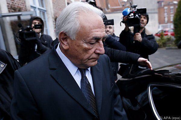 """Strauss-Kahn wies Vorwürfe als """"absurd"""" zurück"""