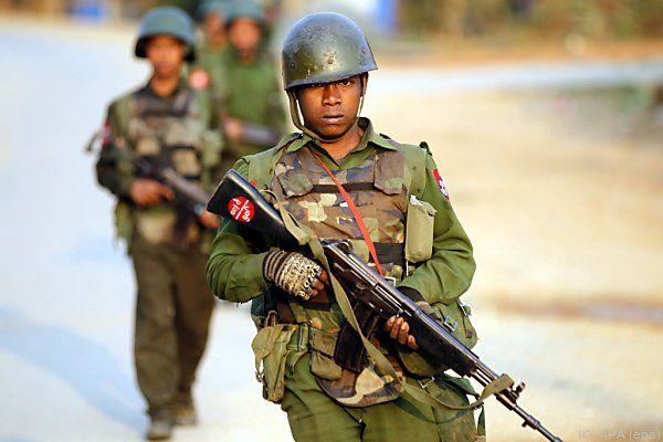 In Myanmar wurde das Kriegsrecht verhängt