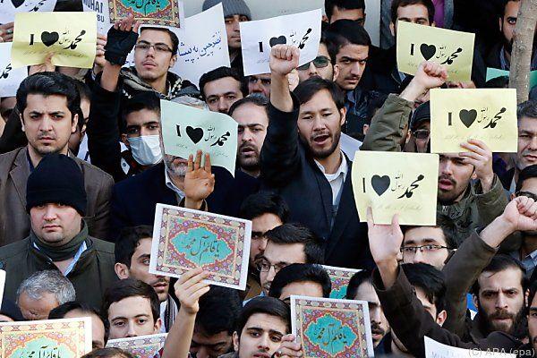 """Iraner von Satiremagazin """"Charlie Hebdo"""" brüskiert"""
