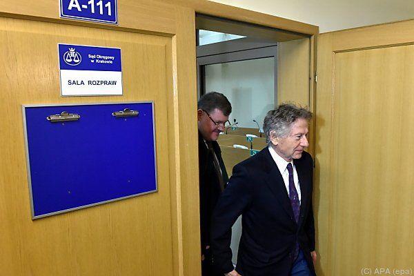Polanski erschien zum Prozessauftakt in Krakau