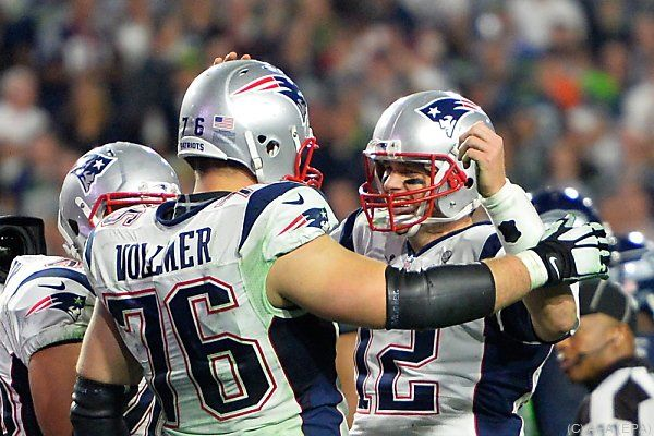 Zwei Touchdowns von Patriots-Quarterback Brady