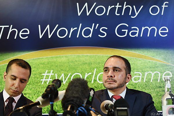 Al-Hussein hat kaum Chancen gegen Blatter
