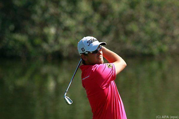 Der Golf-Profi ist nicht restlos zufrieden