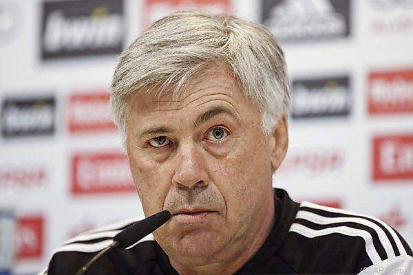 Real-Coach Ancelotti hofft auf Ronaldo
