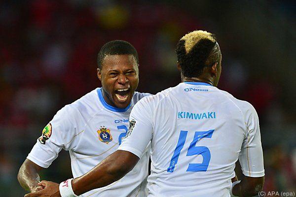 Kongo besiegte den Gastgeber