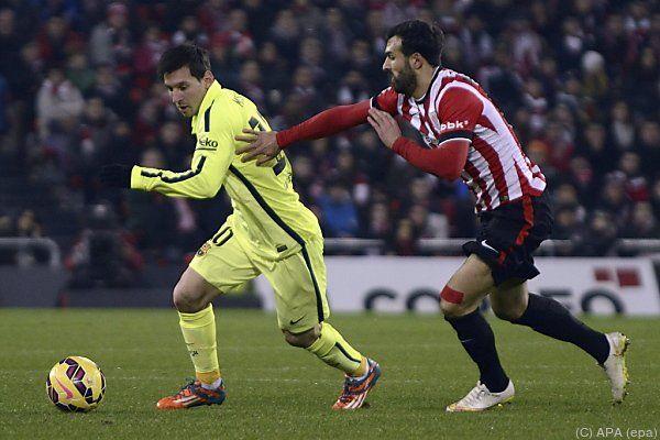 Lionel Messi wieder einmal nicht zu stoppen