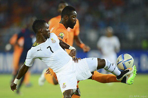Finale Elfenbeinküste - Ghana war Nervenschlacht