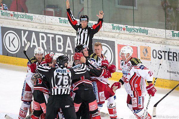 KAC und Innsbruck müssen noch zittern