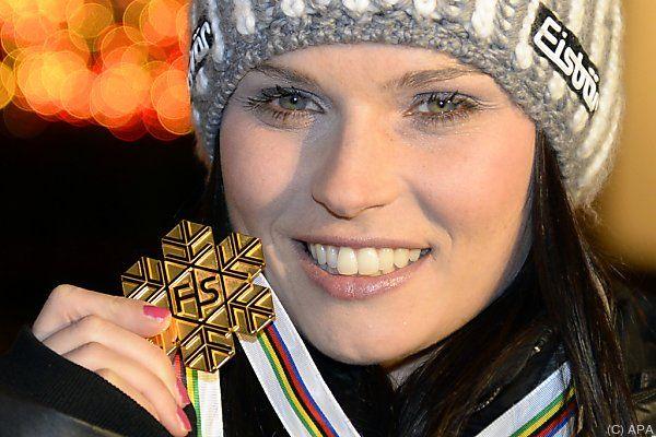 Anna Fenninger geht wieder auf Medaillenjagd