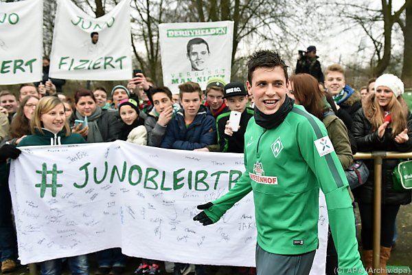 Junuzovic erhörte die Werder-Fans