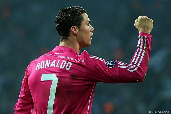 Cristiano Ronaldo traf zum 1:0