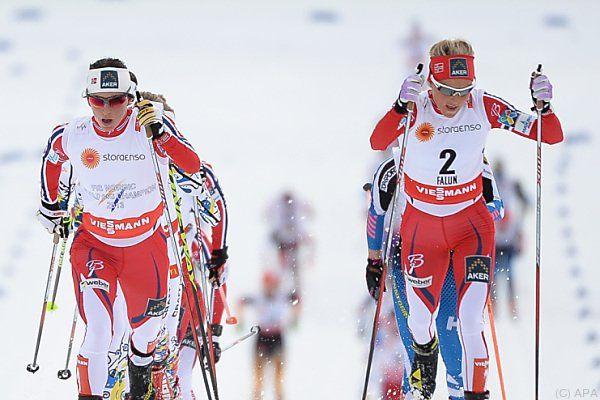 Johaug hängte Landsfrau Jacobsen und Schwedin Kalla ab
