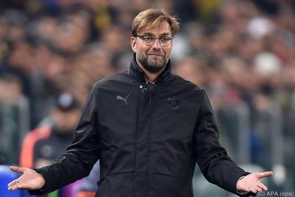 Dortmund-Trainer Jürgen Klopp war nach Niederlage entspannt