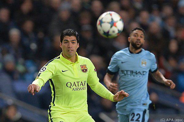 Suarez siegte mit Barca 2:1