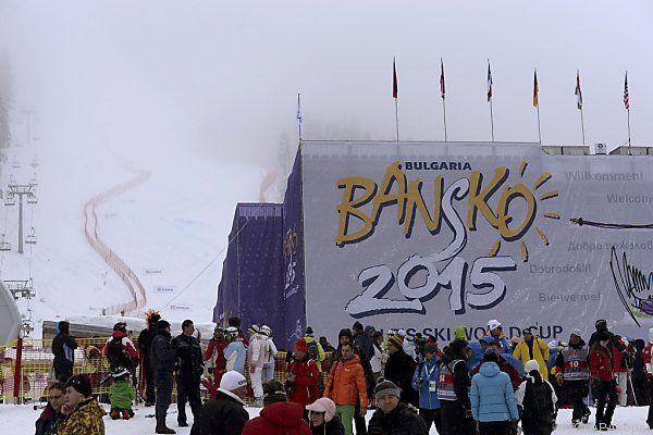 Bansko-Bewerbe im Wetterpech