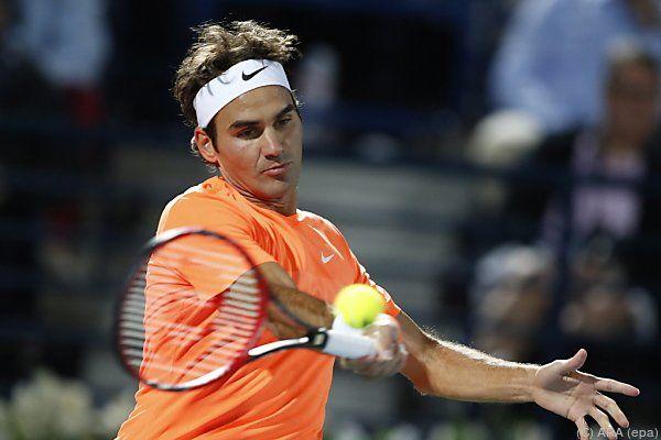 Federer fertigte Weltranglisten-Ersten Djokovic 6:3,7:5 ab