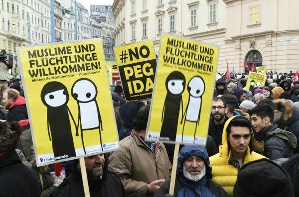 Klima Demo Wien News: Verschleierung