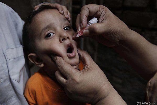 Nur Impfungen schützen wirksam gegen Kinderlähmung