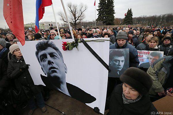 Nemzow wurde hinterrücks ermordet