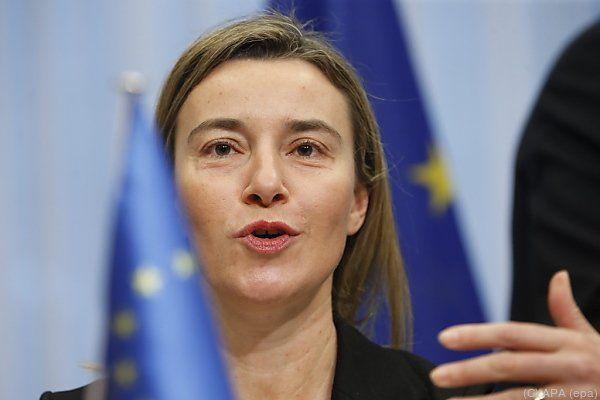 EU-Außenbeauftragte Mogherini sieht jede Menge Aufgaben