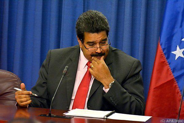 Maduro darf sich über Rückendeckung aus Kuba freuen