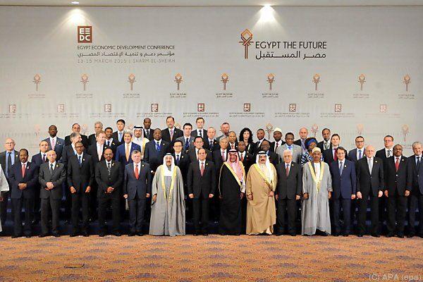 Konferenz zur Unterstützung Ägyptens