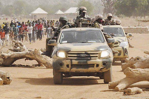 Nigerianische Armee offenbar auf dem Vormarsch