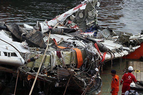 Viele der 162 Opfer wurden nicht geborgen
