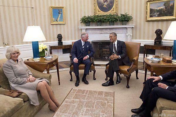 Britischer Thronfolger im Oval Office