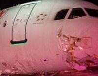 """Air Canada""-Jet schoss über Landebahn hinaus"