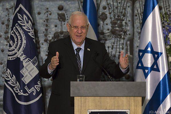 Israels Präsident Rivlin rief zur Einheit auf