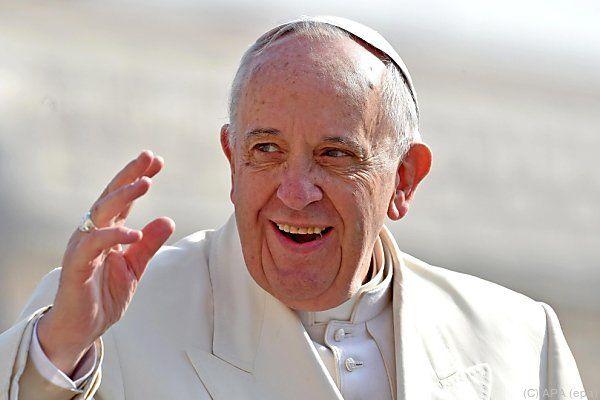 Papst Franziskus hat etwas zugelegt