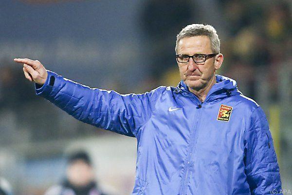 Admira-Coach Walter Knaller gibt die Marschrichtung vor