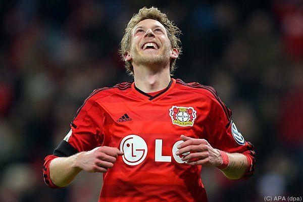 Kiessling ist mit Leverkusen im Cup-Viertelfinale